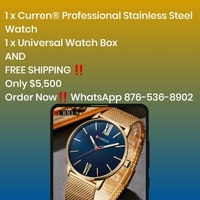 Curren Professional Stainless Steel Watch
