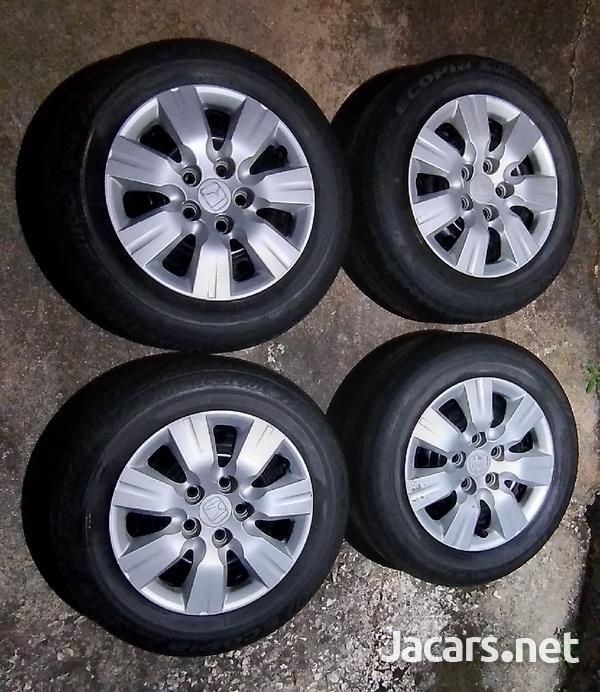 Honda/ Toyota Rims and Tires 5X114.3-1