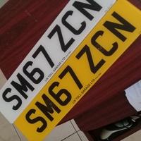 GB License Plates