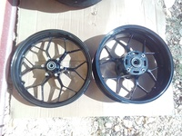 2013 to 2019 Honda CBR 600rr Front and rear wheels