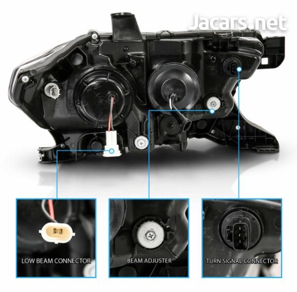 Toyota Tacoma TRD w/LED Bar Black Projector Headlights-3