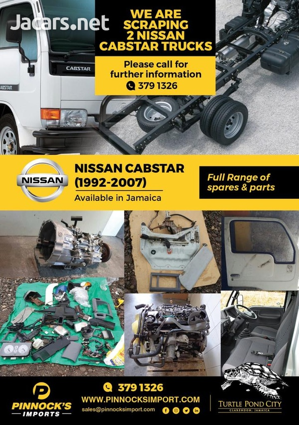 NISSAN ATLAS CABSTAR SPARES AND PARTS-2