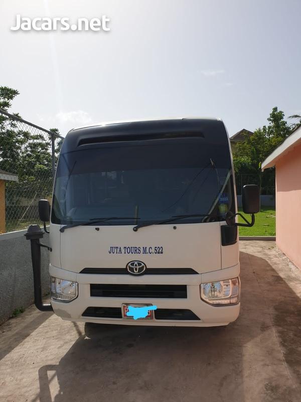 2018 Toyota Coaster Bus-3