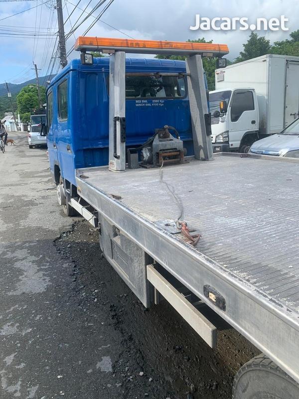 Mitsubishi Canter twin Cab Tilt n Slide Wrecker-2