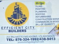 Efficient City Builders Construction