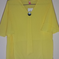 Women's Blouse Yellow Size Medium