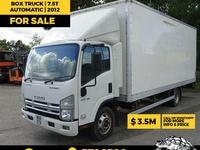 2012 Isuzu Box Truck 7.5T