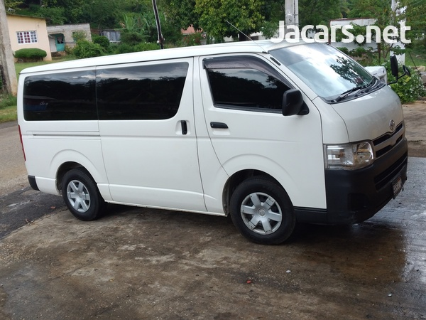 2012 Toyota HIACE contact- 876 817-2035 or 876 494-4436-6