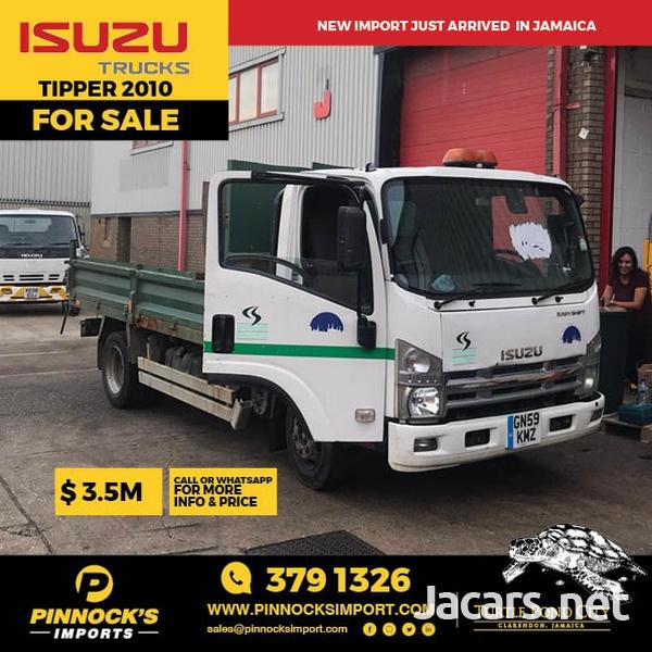 2010 Isuzu Tipper Truck-1