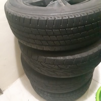 18 inch Toyota Rims. Tyres new condition
