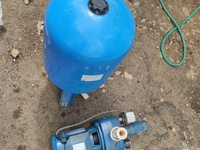 Pressure Tank and Water Pump