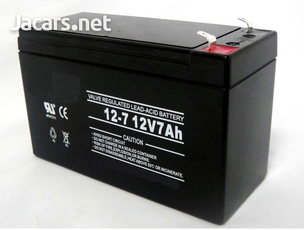 12V 7Ah Batteries for Motorcycles etc
