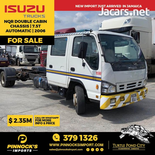 Isuzu NQR Double Cabin Chassis 7.5T 2006-1