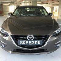 Mazda 3 1,5L 2014
