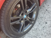 BMW Original Msport Rims and tires 18s