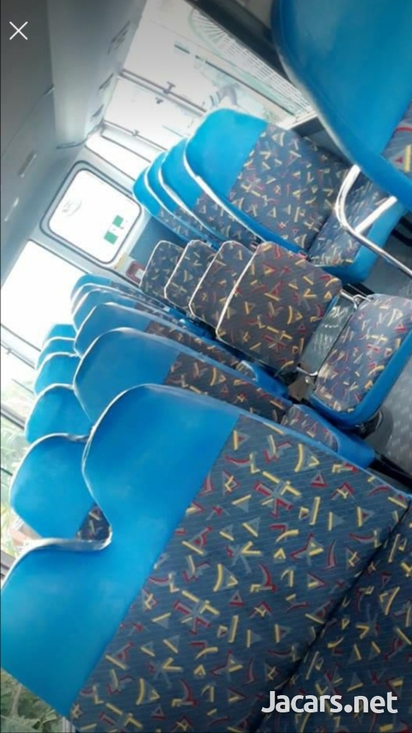 HAVE YOUR BUS FULLY SEATED OUT WITH FOUR ROWS OF SEATS.CONTACT 8762921460-8