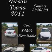 Nissan Teana 1,5L 2011