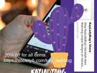 November Sale on KayLadyBug Website