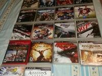 ps3 18 piece game disc set