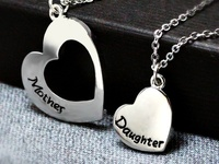 MOTHER, DAUGHTER NECKLACE