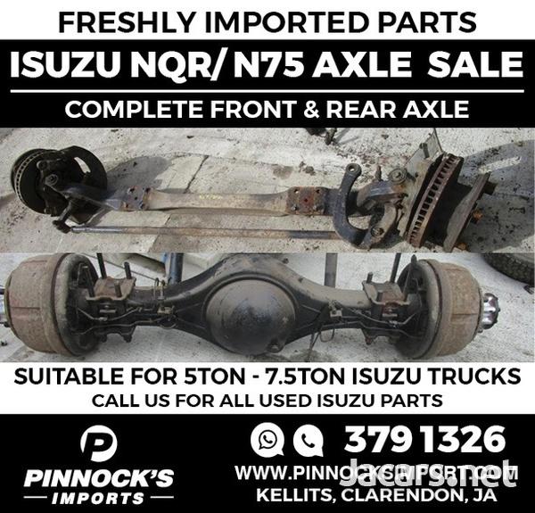 TRUCK AXLES FRONT AND BACK FOR ALL TRUCKS - ISUZU / DAF / MITSUBISHI-2
