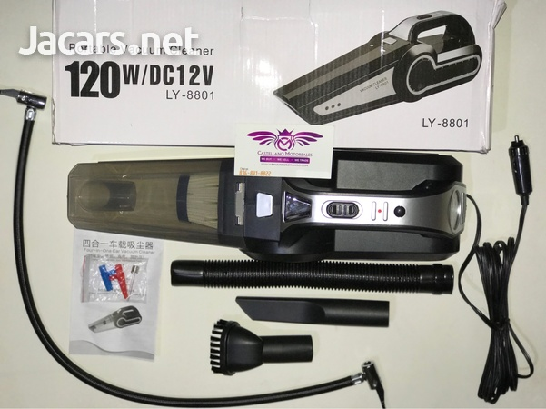 4 in 1 Portable Car Vacuum and Tyre Pump-2