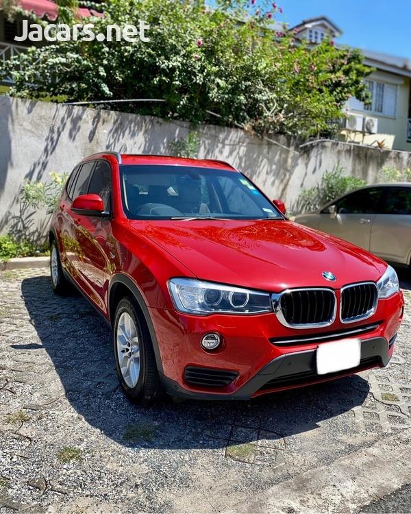 BMW X3 2,0L 2017-1