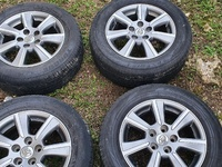 used toyota rims and tyre