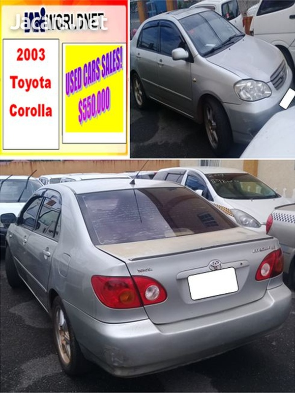 Toyota Corolla 2,0L 2003