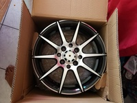 Brand New Rims and Tyre