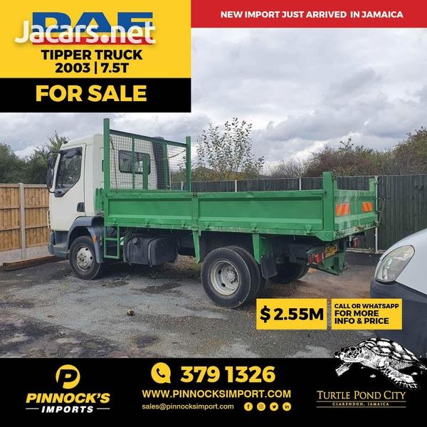 DAF Tipper Truck 7.5T 2003-1