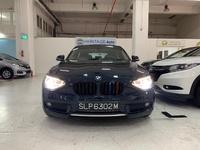 BMW 1-Series 2,6L 2012