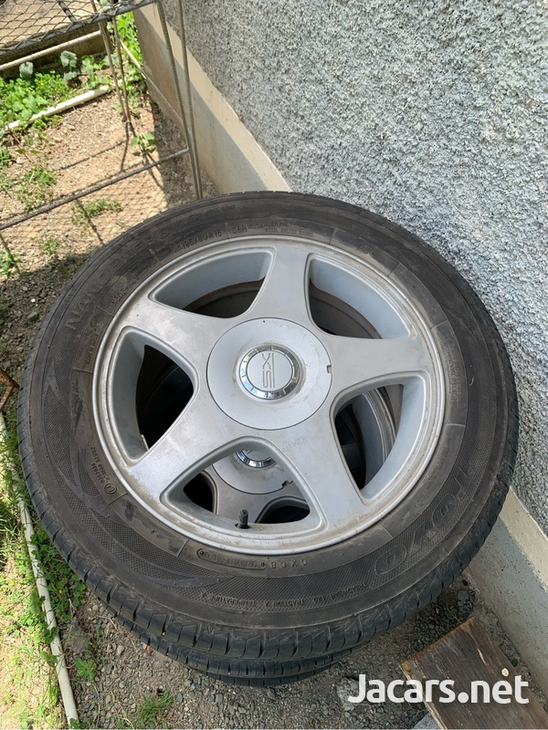 Stock rims and tires 8 lug-1