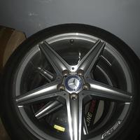 Mercedes Benz Stock AMG 18 Rims Tires