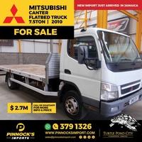 Mitsubishi Canter Flatbed Truck 7.5T 2010