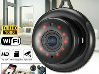 SPY 1080P Mini Wireless WIFI IP Security Camera w/ Nightvision