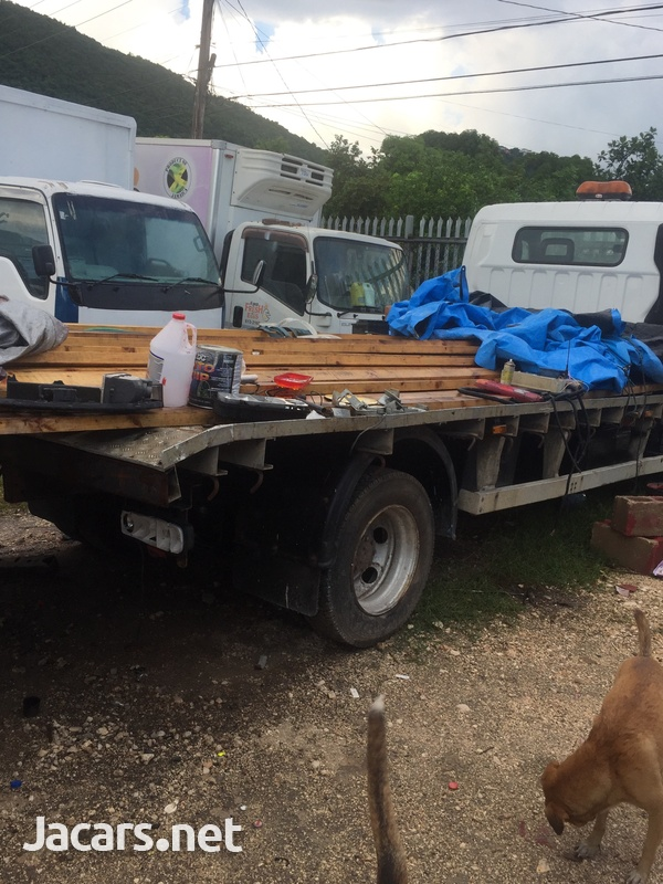 2009 Mitsubishi Canter FlatBed Truck-2
