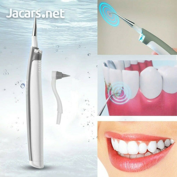 Dental Sonic Ultrasonic Scaler Tartar Clean LED Tooth Pick Whitening Teeth Scali-1