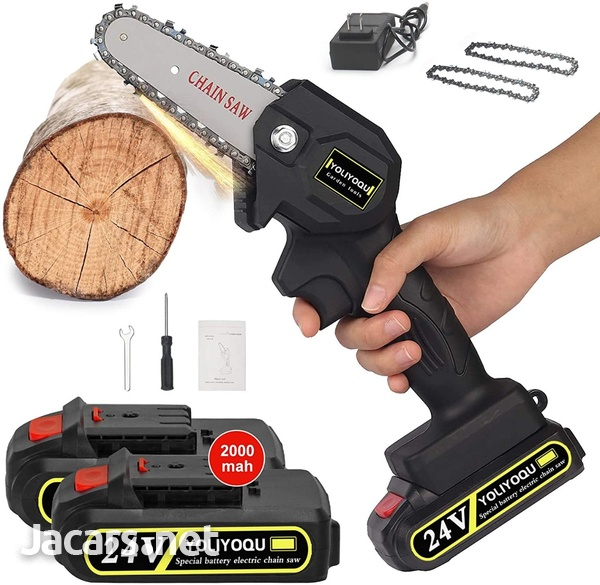 World's smallest yet powerful cordless chainsaw-1