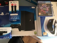 Brand New Sony PS4 Pro 1TB Comes With Complete Acc