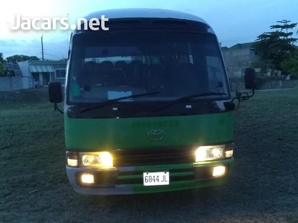 2001 Toyota Coaster Bus-4