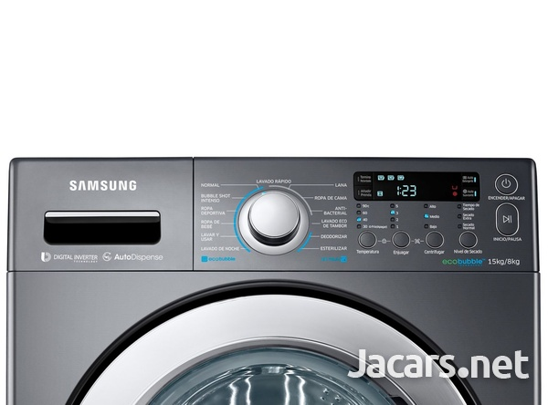 SAMSUNG WASHER AND DRYER COMBO-7