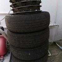 15 inch Steel Rims w/Tyres