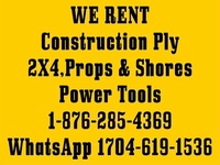 Construction Ply and Tools Rental