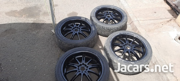 18 inch rims and tyres 245/40/18-6