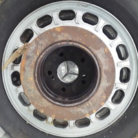 Benz back disk wheel