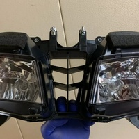 2013 to 2019 honda cbr 600rr headlight headlamp