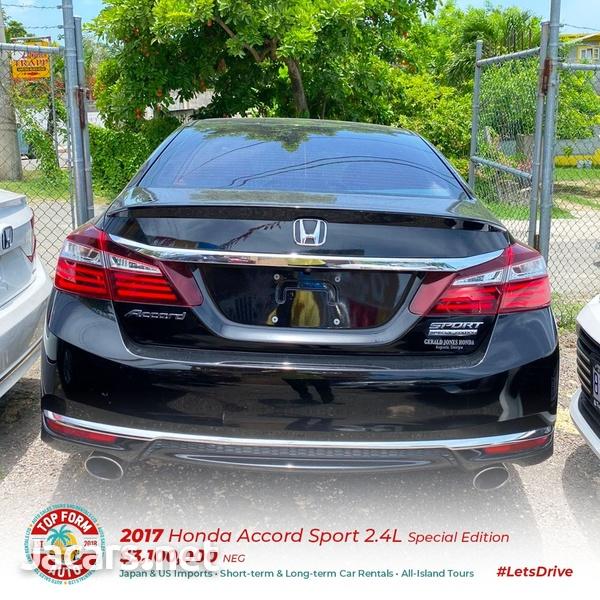 Honda Accord 2,4L 2017-8