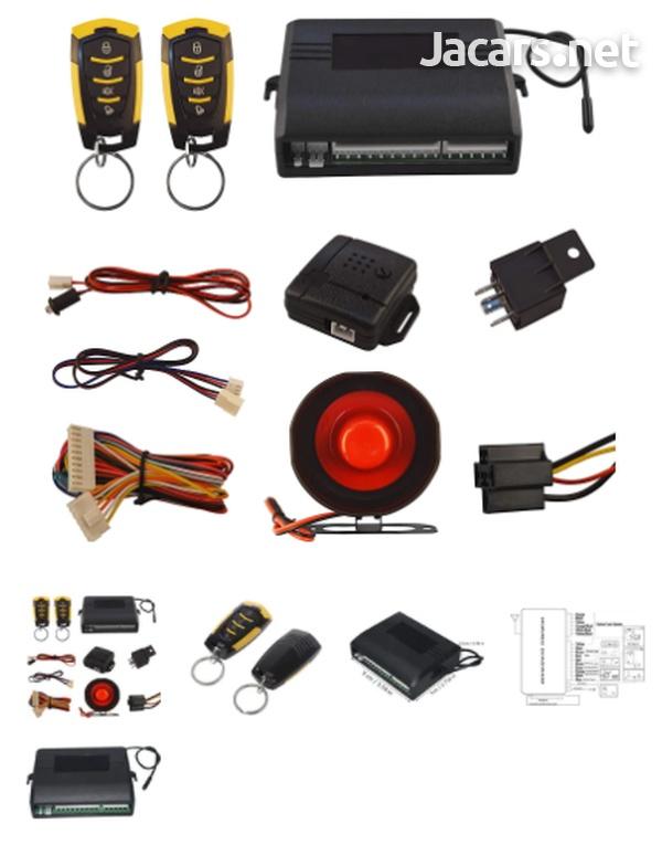 Car Alarm System-Keyless Entry Car Alarm System-2