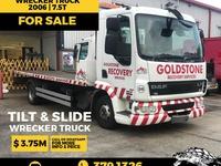 DAF Wrecker Truck 7.5T 2006